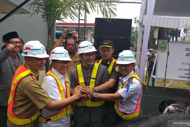 Pembangunan jalan layang di Kota Bandung dimulai