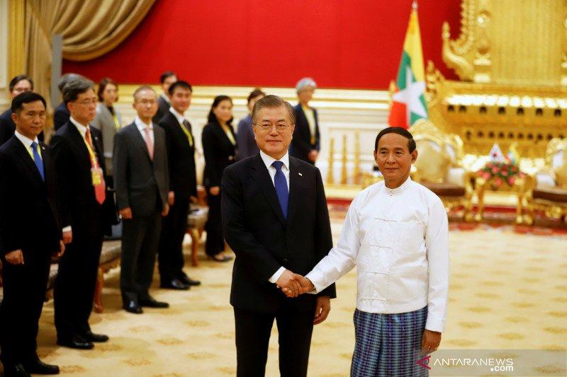 Presiden Moon: Indonesia tumbuh dinamis dipimpin Jokowi