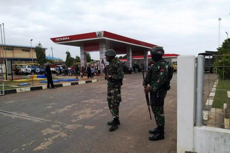 TNI/Polri amankan obyek vital di Merauke