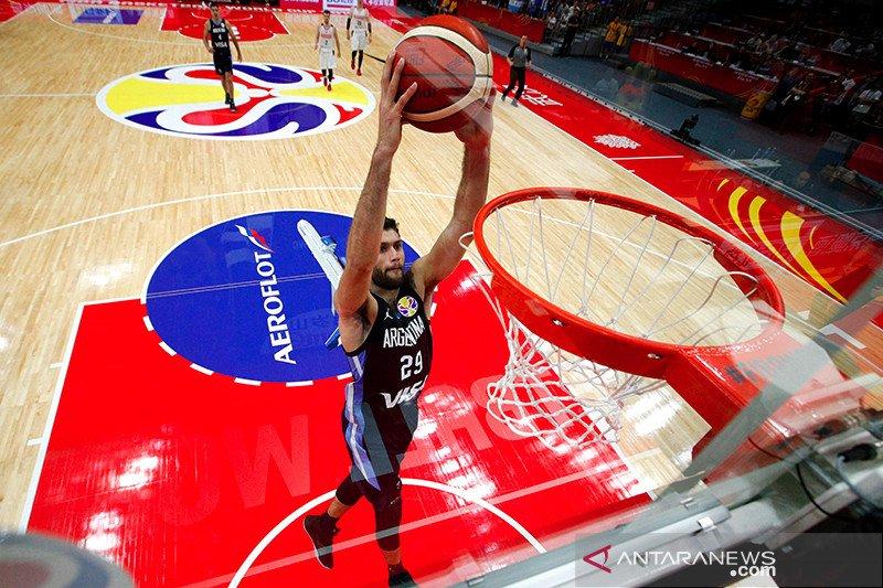 Putaran pertama Piala Dunia FIBA 2019 disapu bersih Argentina, Serbia, dan Spanyol