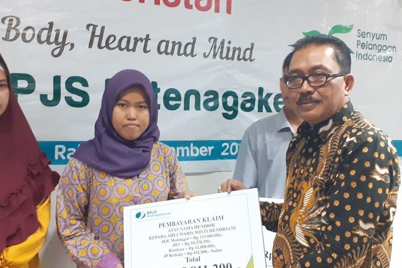 BPJS Ketenagakerjaan bayar klaim Rp4 miliar kepada korban KM Sembilang