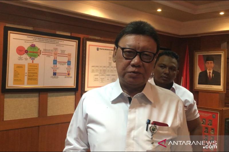 Mendagri berduka karena ada lagi kepala daerah yang terjaring OTT KPK