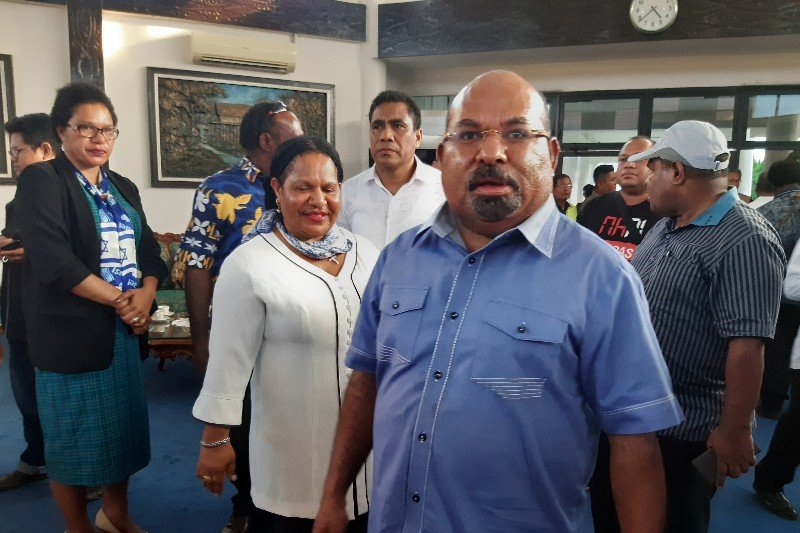 Papua Terkini - Gubernur apresiasi Kapolri dan Panglima TNI berkantor di Papua