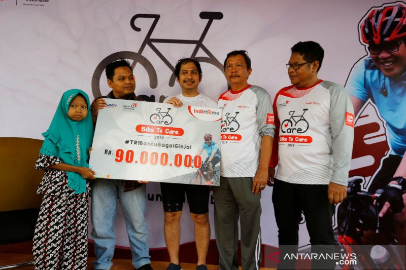 ACT Sumut gelar  Charity Fun Bike bersama PT Telkom