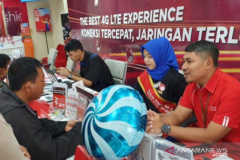 Telkomsel memanjakan pelanggannya di Hari Pelanggan Nasional
