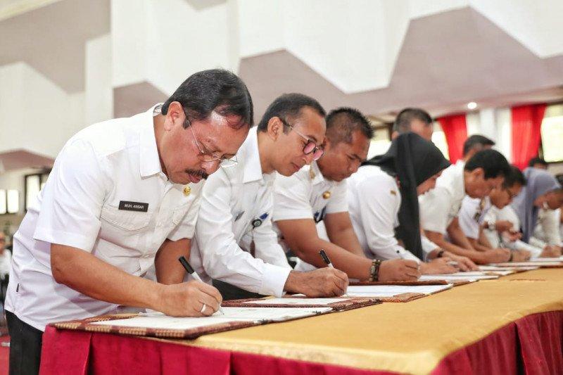 Sekda Makassar tandatangani PKS percepatan pengaduan masyarakat