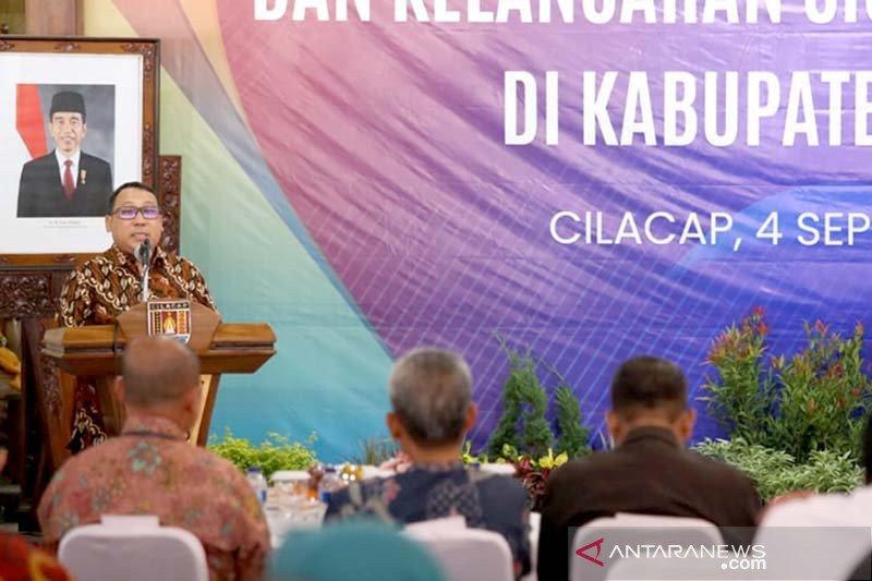 BI Purwokerto ajak pejabat Pemkab Cilacap ikut merawat uang rupiah