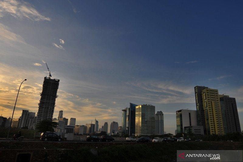 Kamis pagi cuaca Cerah berawan sapa Jakarta