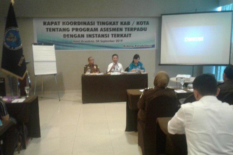 BNNP Sulut terapkan dua cara rehabilitasi penyalahgunaan Narkotika