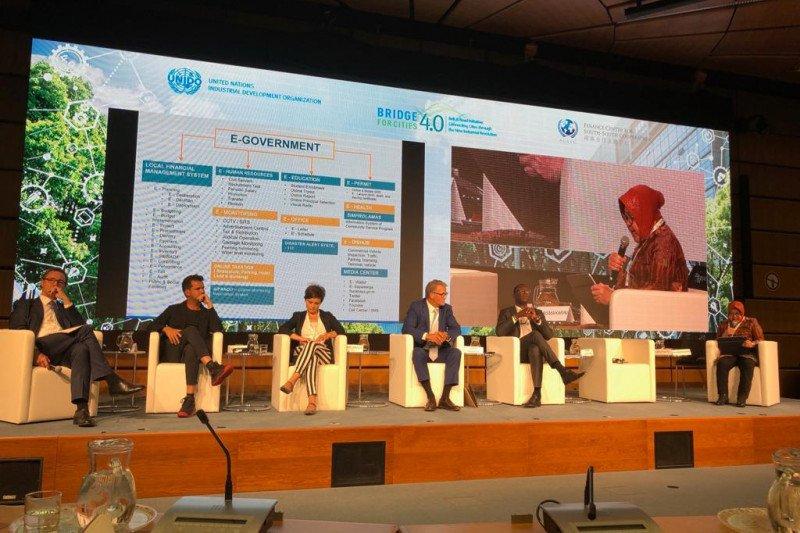 Wali Kota Surabaya paparkan terobosoan teknologi di forum UNIDO-PBB