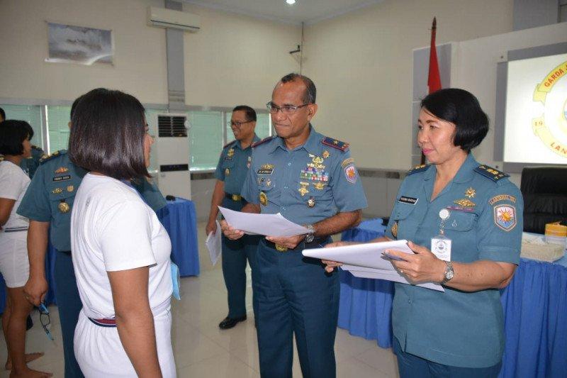 Danlantamal  Manado pimpin sidang Pantukhirda prajurit TNI AL