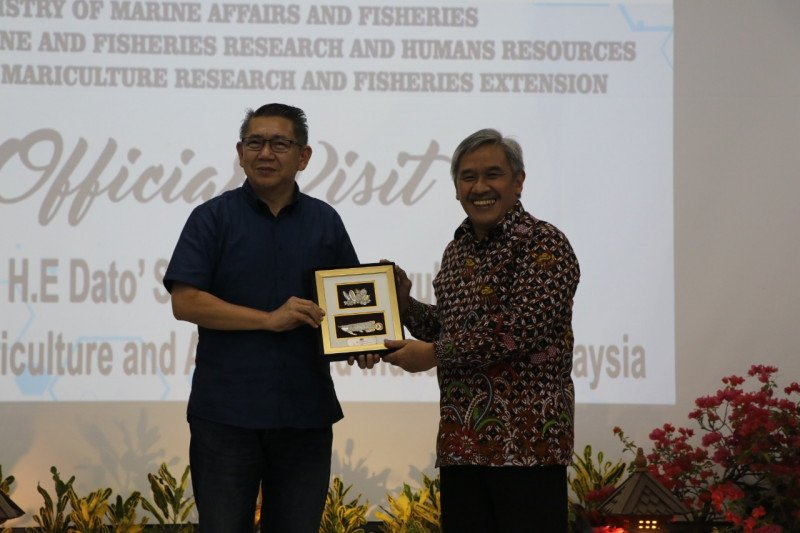 Indonesia perkuat kerja sama perikanan dengan Malaysia