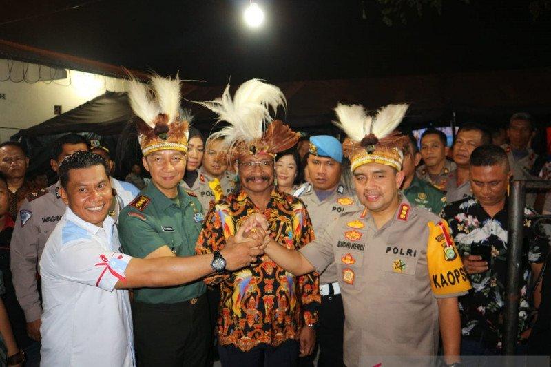 Polres Jakarta Utara menggelar silaturahmi dengan warga Papua