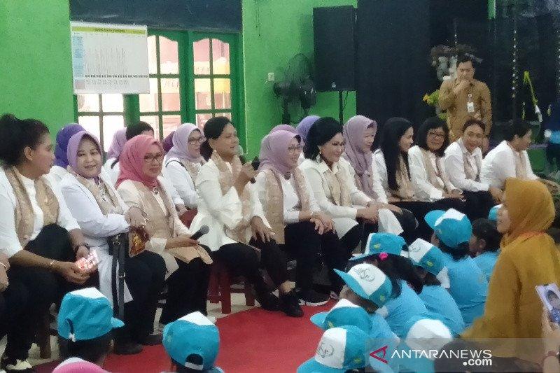 Iriana Jokowi kunjungi PAUD Putra Pertiwi