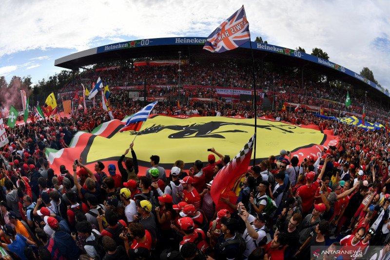 Tifosi Ferrari berpesta, Monza tetap di kalender F1