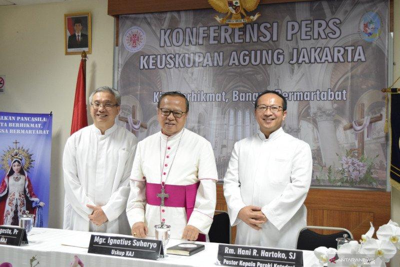 Mgr Suharyo sebut penunjukan jadi kardinal sebagai tanda penghargaan