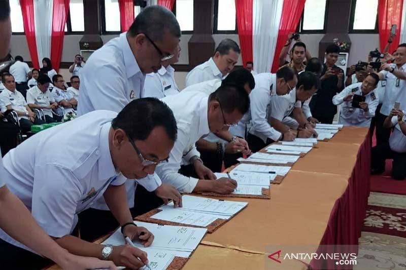Sekda Luwu Timur teken MoU dengan Ombudsman