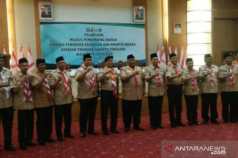 Ketua Kwarnas: Kemah pramuka eksekutif Kendari jadi rujukan nasional