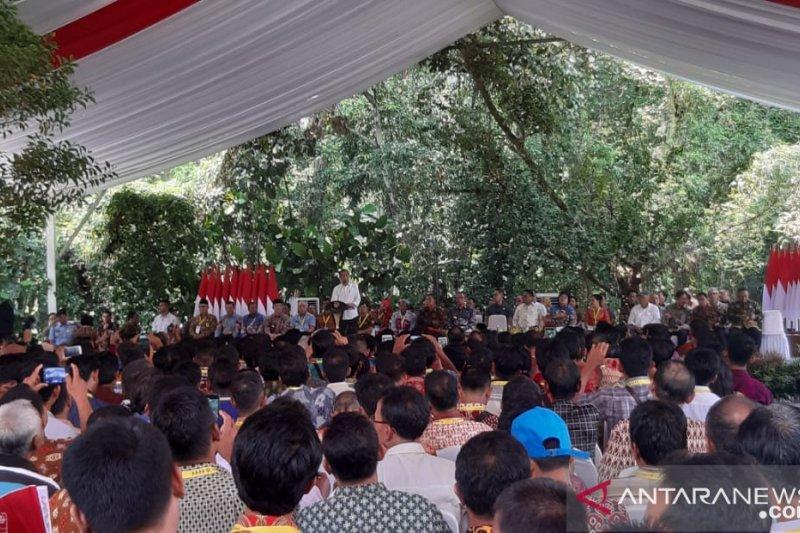 Jokowi minta masyarakat Kalbar gali potensi perkebunan