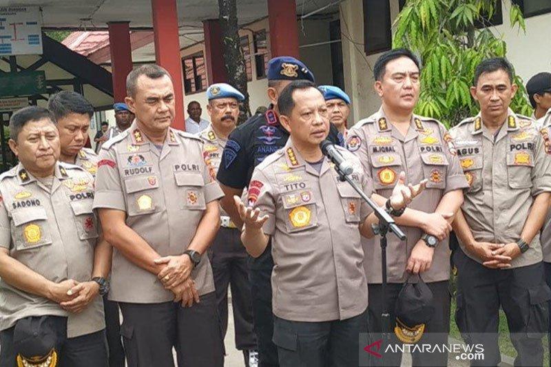 Pertimbangan kuat dari pernyataan Kapolri terkait oknum di belakang Papua