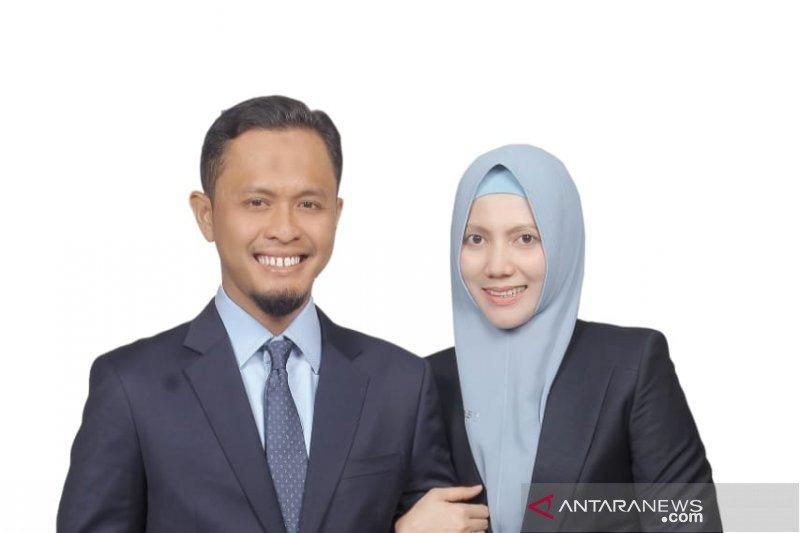 Pasangan suami istri ini dilantik jadi anggota DPRD Riau