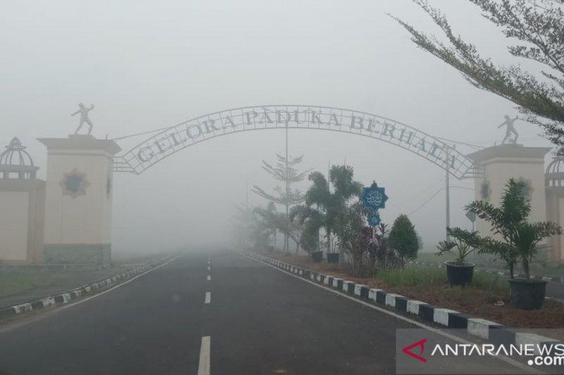 Liga pelajar Tanjabtim dihentikan sementara menyusul penurunan kualitas udara