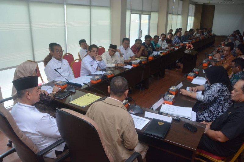 Wabup Solok Selatan diskusikan dana perimbangan dan honorer K2 dengan DPD RI