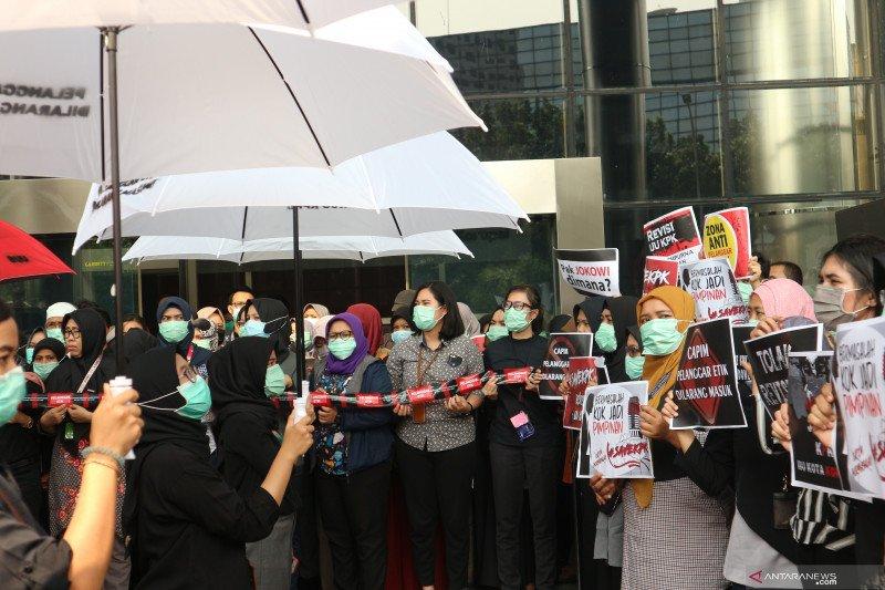 KPK minta Presiden Jokowi bertindak terkait Capim dan Revisi UU KPK