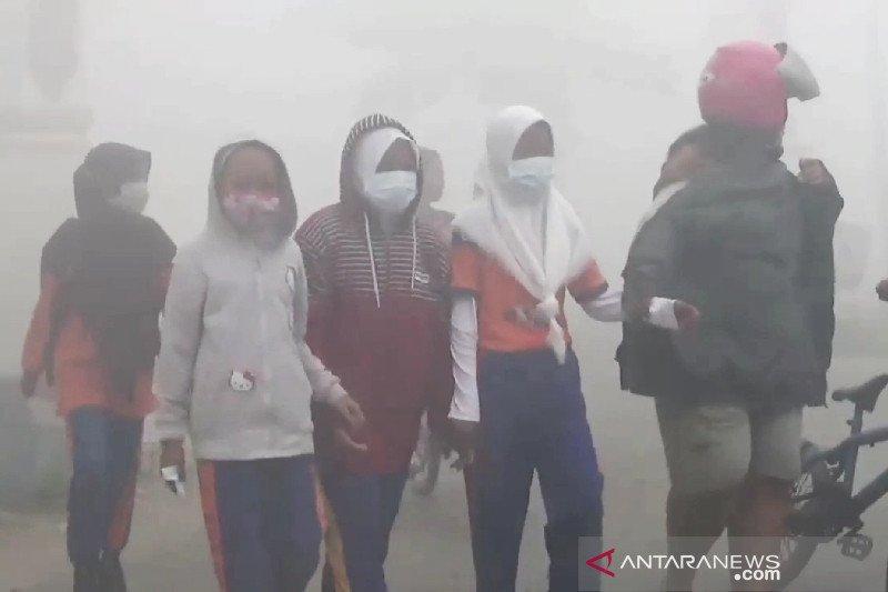 Kualitas udara Sampit kategori berbahaya