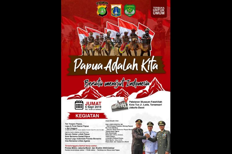 Jakarta Barat akan gelar acara solidaritas damai