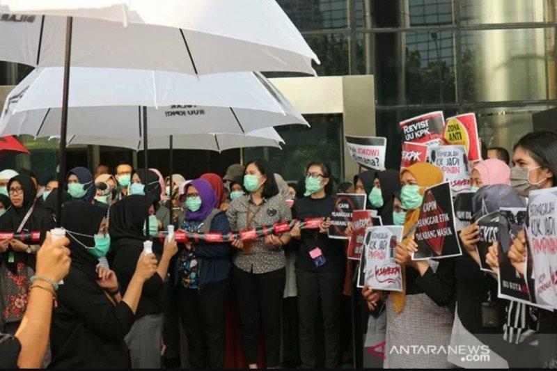 Revisi UU KPK tidak muncul tiba-tiba