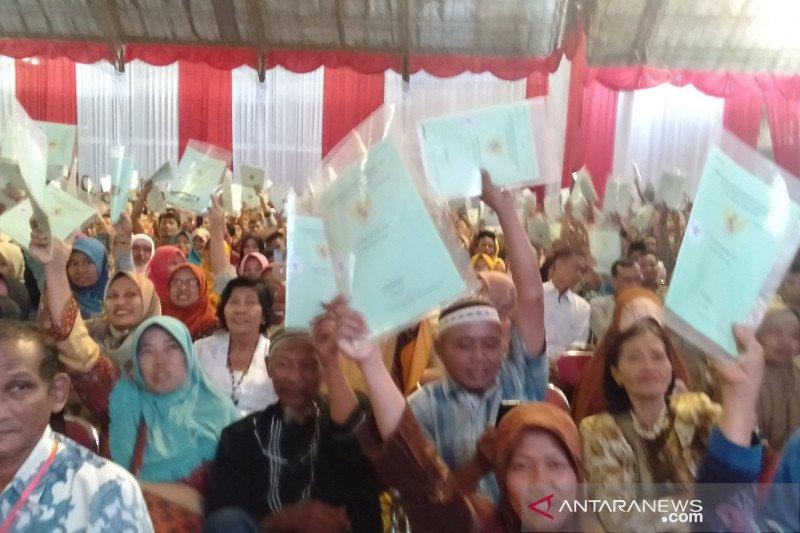 Presiden Jokowi: tidak perlu malu sertifikat untuk agunan
