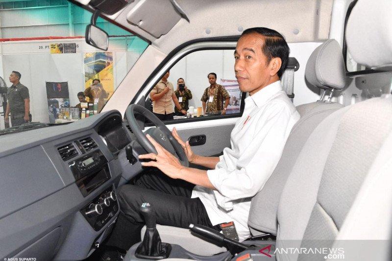 Mobil Esemka, Jokowi: Semua harus mendukung