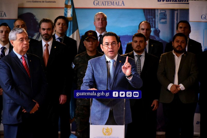 Pemimpin Guatemala tolak terima migran Meksiko dari AS