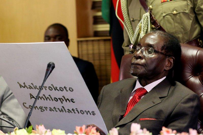 Jenazah Mugabe diterbangkan dari Singapura untuk pemakaman