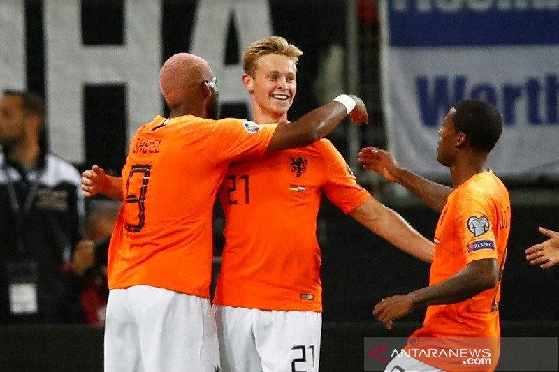 Jerman dipermalukan Belanda dikandang sendiri