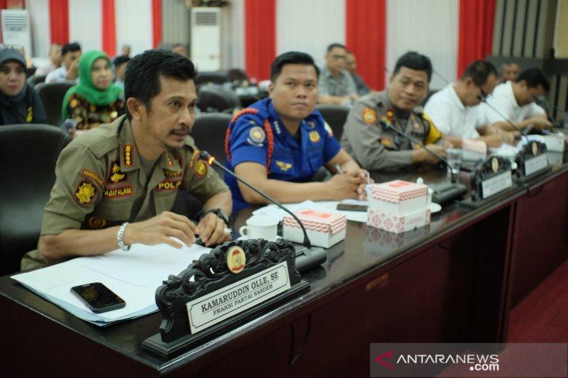 347 personel kepolisian dikerahkan amankan pelantikan 50 anggota DPRD Makassar