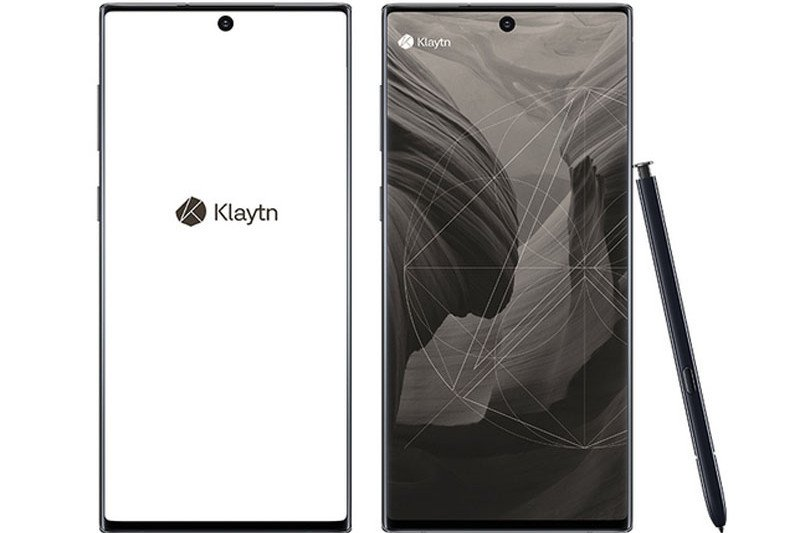 Ponsel blockchain KlaytnPhone mirip Samsung Galaxy Note 10