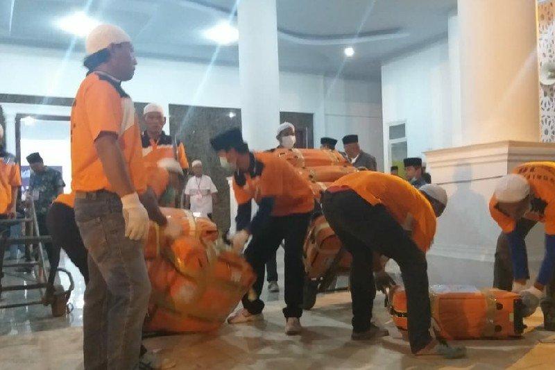 5.383 orang haji asal Sumut kembali ke Tanah Air