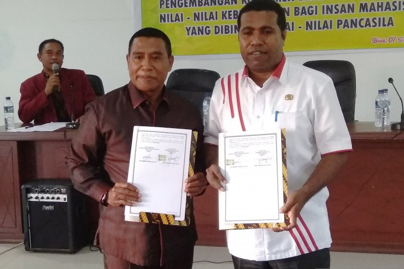 Pemkab Biak-STIH kerja sama penyuluhan hukum kepada masyarakat kampung