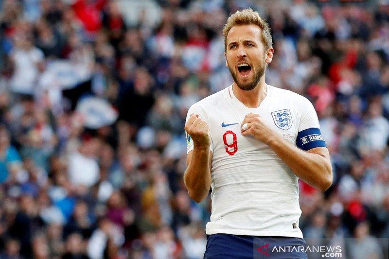 Kualifikasi Euro, Trigol Kane bantu Inggris lumat Bulgaria