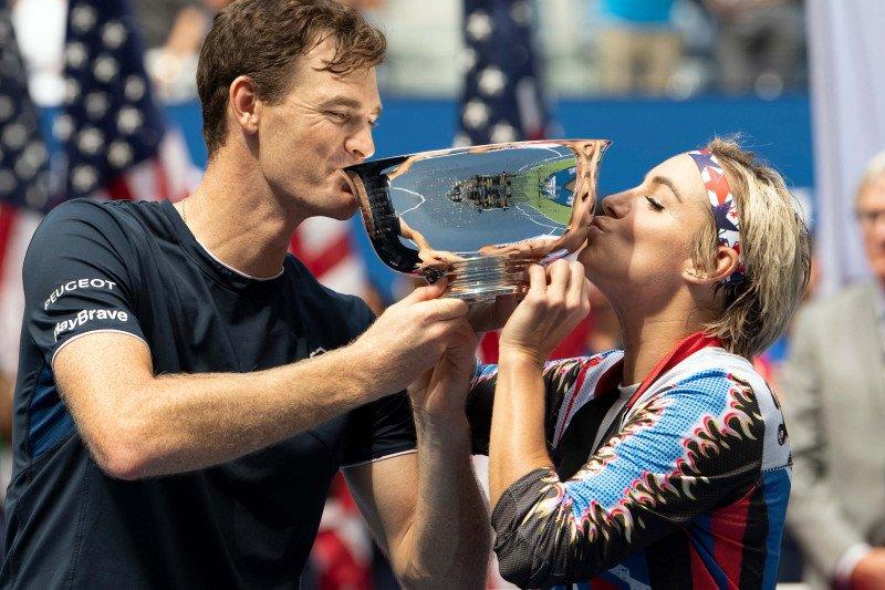 Mattek-Sands/Murray pertahankan gelar ganda campuran US Open