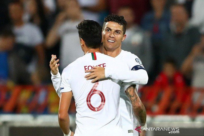 Kualifikasi Euro, Portugal akhirnya bukukan kemenangan perdana