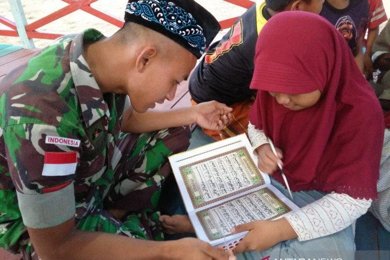 Pamtas RI-Malaysia jadi guru ngaji