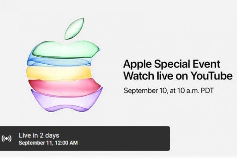 Apple pertama kali siarkan peluncuran iPhone di YouTube