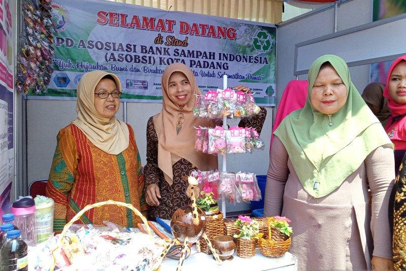 Asosiasi bank sampah Kota Padang hasilkan produk unggulan