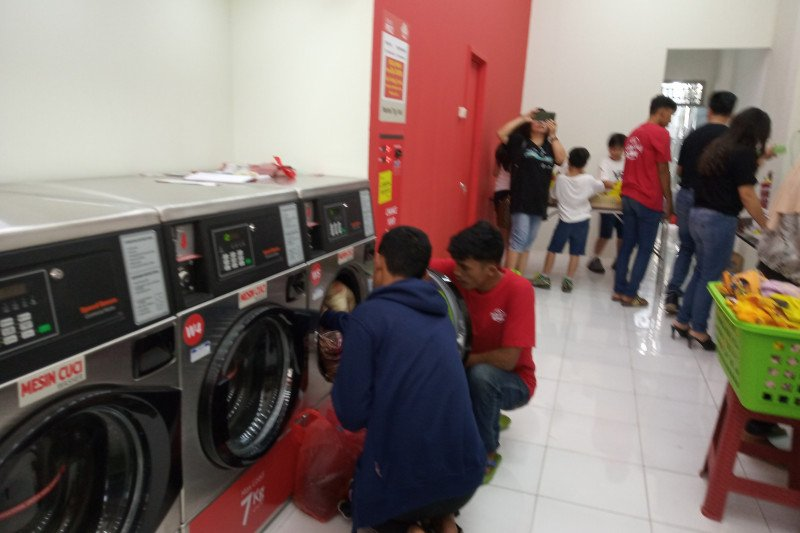 Laundry koin hadir di Kota Bandarlampung