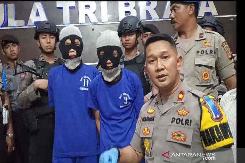 Polisi tangkap dua pelaku penusukan santri hingga tewas