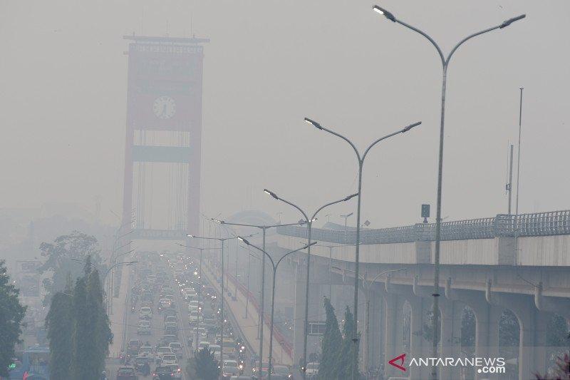 Dinkes Palembang  imbau gunakan masker hindari ispa