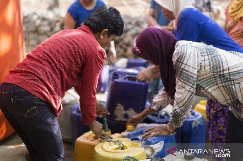 Sedekah air, gerakan membantu masyarakat terdampak bencana kekeringan